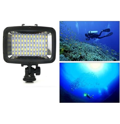 Led Xiaomi Yi 40m waterproof underwater led fill light photography l for gopro sjcam xiaomi yi
