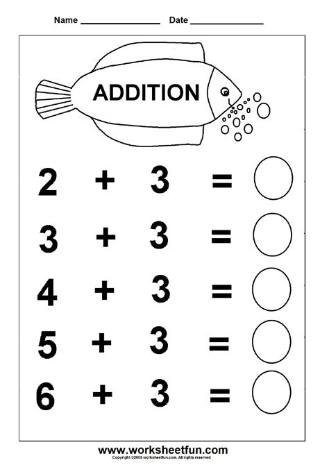 easy addition worksheets beginner addition 6 kindergarten addition worksheets free printable worksheets worksheetfun