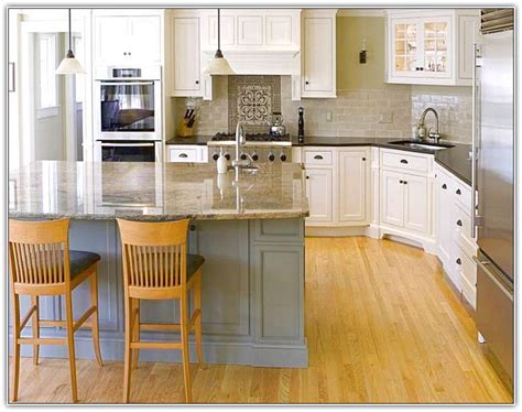 ideas for small kitchen islands kitchen ideas for small kitchens with white cabinets