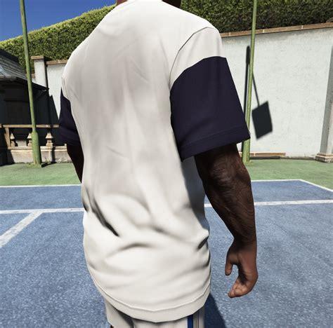 Kaos Tshirt Roland Garros Lacoste t shirt lacoste sport roland garros edition gta5 mods