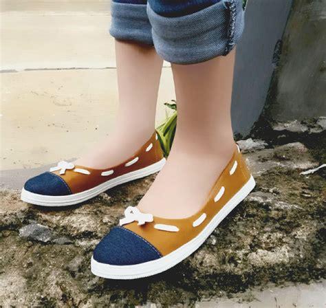 Sepatu Sandal Cewek Casual jual sepatu sandal wanita casual sendal cewek sds76