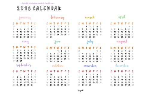 monthly planner 2016 printable tumblr printable calendar 2016 tumblr