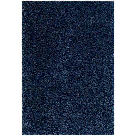 rugs california safavieh california shag navy 6 ft 7 in x 9 ft 6 in area rug sg151 7070 7 the home depot