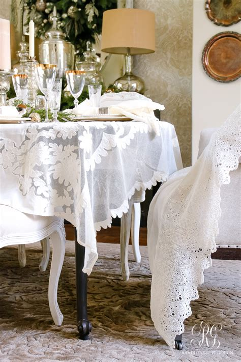 dining room linens elegant white and gold christmas dining room and table scape