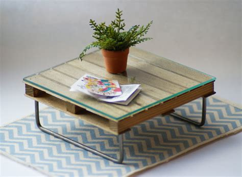 items similar to upcycled pallet coffee table 12th scale