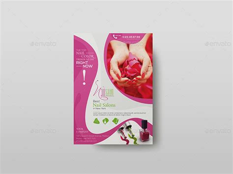 flyer templates nail salon nail salon flyer template by wutip2 graphicriver