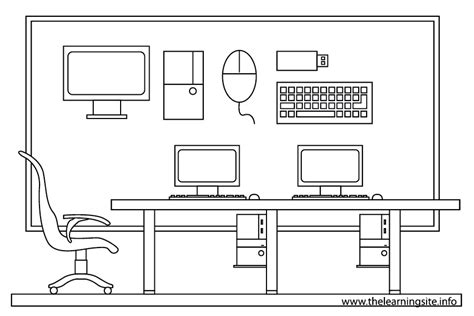 free coloring pages of parts of room