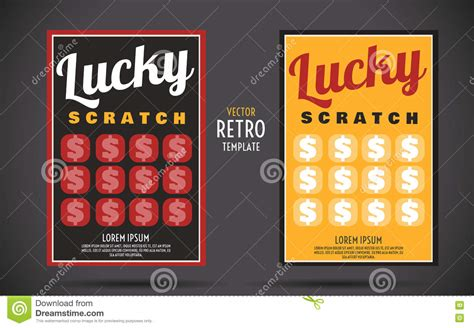 Scratch Card Design Template by Scratch Template Tolg Jcmanagement Co