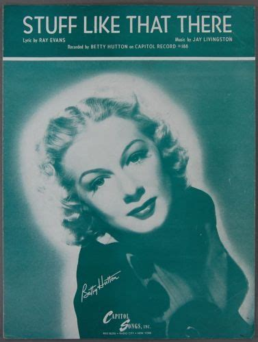 bette midler stuff like that there 45 stuff like that there livingston betty hutton