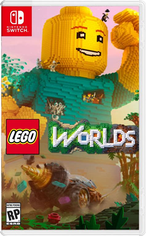 lego worlds ps4 xbox one nintendo switch codes tips guide unofficial books lego worlds nintendo wire
