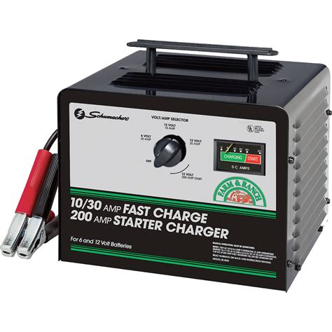 Chargeur Batterie Auto 221 by Schumacher Farm And Ranch Charger 10 30 200 6 12
