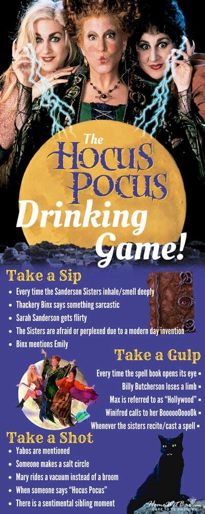 halloween drinking games this hocus pocus drinking game will make your night ten
