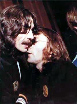 imagine de john lennon y george harrison john lennon george harrison last pic together listen
