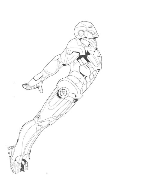 new iron man coloring page printable coloring pages