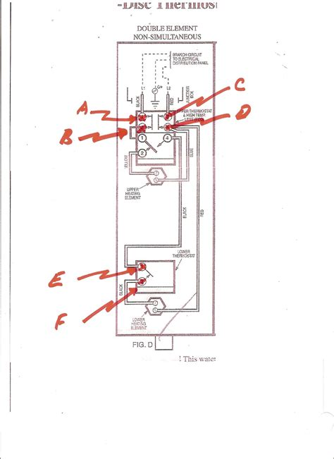 ge water heater wiring diagram circuit and