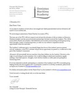 ormiston maritime academy parent association