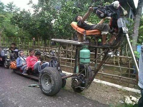 foto modifikasi vespa kongo cuma di indonesia kamu bisa lihat vespa di modif jadi kaya