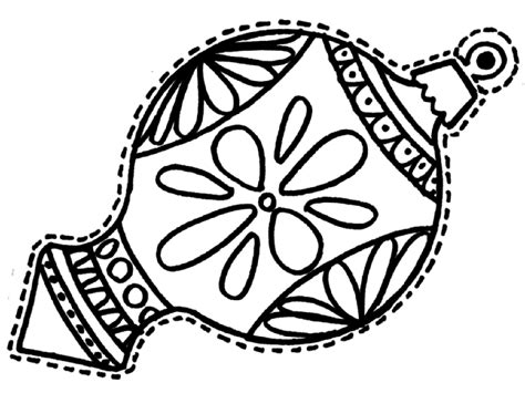 christmas ornament tree to color coloring pages of ornaments wallpapers9
