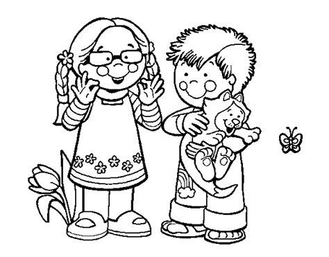 imagenes de niños jugando en grupo para colorear dibujos de ni 241 os para pintar e imprimir archivos dibujos