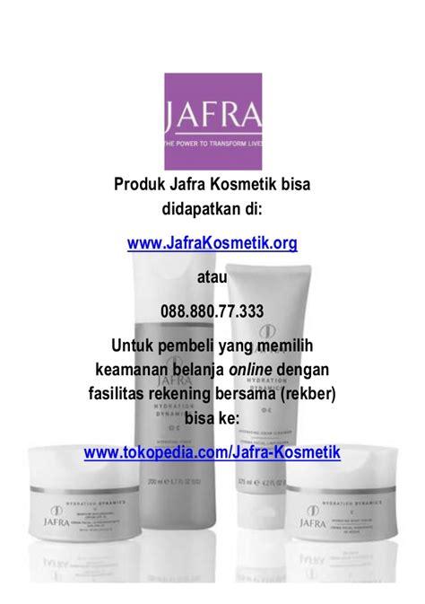 Pemutih Wajah Jafra katalog produk jafra kosmetik 2014