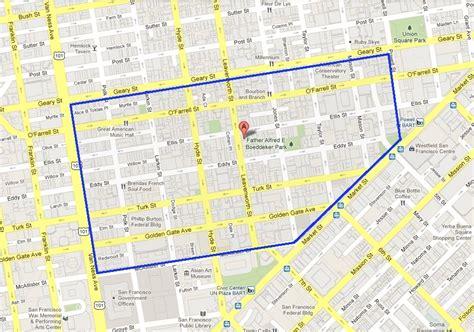 san francisco neighborhood map tenderloin we hung about the tenderloin piazza new york catcher