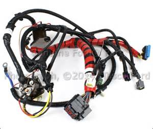 brand new ford e series 7 3l v8 oem injector wire harness xc2z 12b637 ea ebay