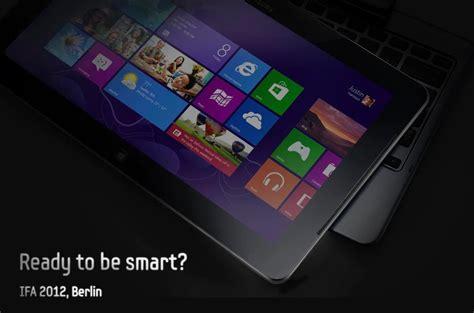 Tablet Mito Windows 8 by Samsung Windows 8 Tablet Mit Tastatur Dock Auf Der Ifa