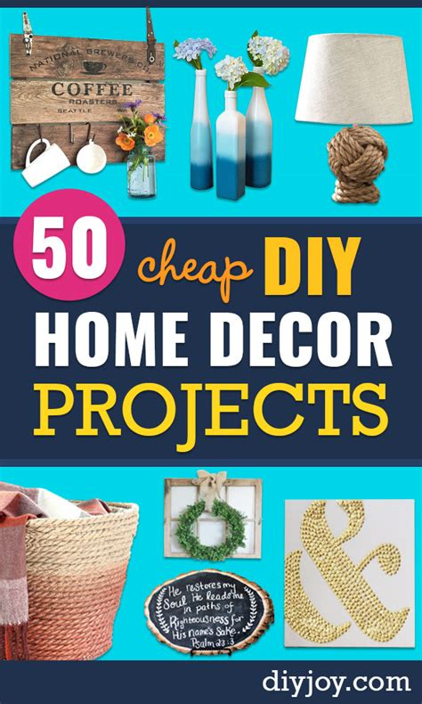 diy home decor projects cheap 50 cheap diy home decor projects