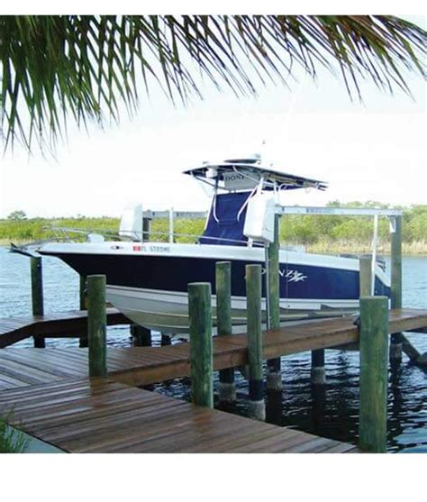 aluminum boat lift aluminum four post boat lifts 8k capacity bh usa