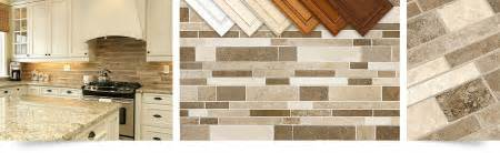 Ideas For Backsplash In Kitchen brown travertine mix kitchen backsplash tile from backsplash com