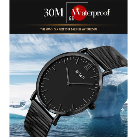 Jam Tangan Pria Milanese Premium Stainless Steel Skmei 1182 skmei jam tangan pria milanese premium stainless steel 1182 gold jakartanotebook