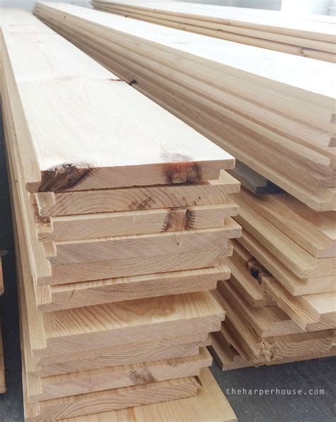 Buy Shiplap Wood Where To Buy Shiplap The House