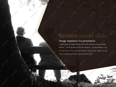 Luxury Silver Town Powerpoint Template Goodpello Luxury Powerpoint Template