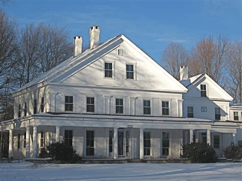 medway ma greek revival restoration the greek revival in small town new england