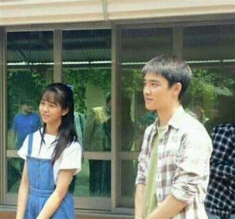 sinopsis film do exo pure love exo s d o and kim so hyun spotted filming movie quot pure love