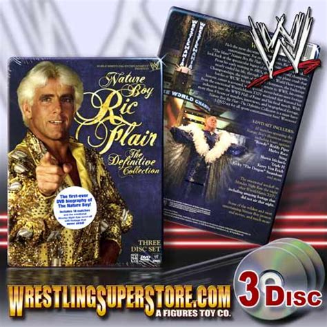 wwe biography dvds list wwe nature boy ric flair the definitive collection dvd