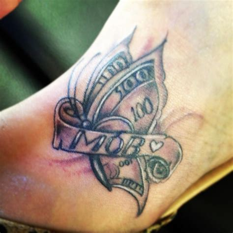 butterfly tattoo cost 15 best money tattoos images on pinterest money tattoo