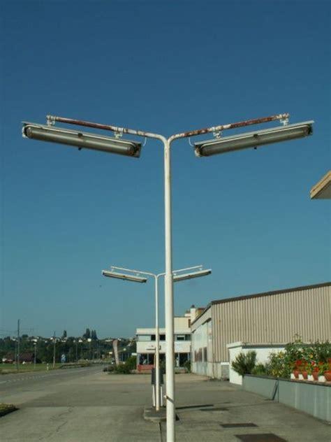 service station lights lighting gallery swiss streetlighting abandoned
