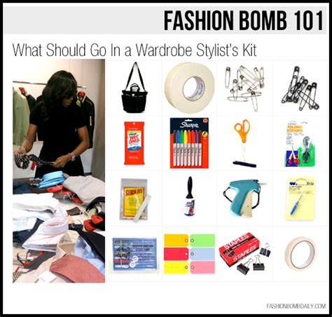 fashion bomb 101 what should go in a wardrobe stylist s