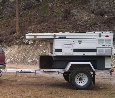 4 Wheel Truck 2004 Fwc Eagle On A Modified M116 M101 Trailer