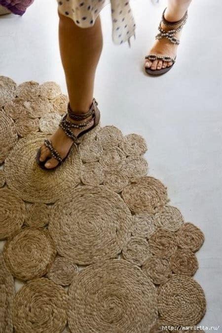 rope rug diy cool creativity diy simple rope rug