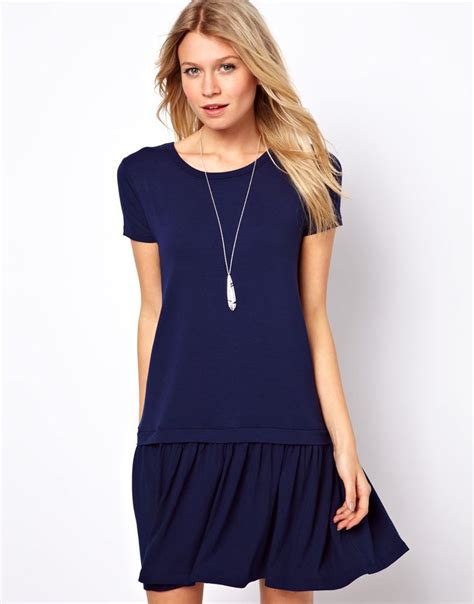 Y Zahrina Blouse Dress asos t shirt dress with drop waist my style vestiditos costura y ropa