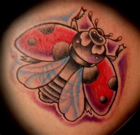 new school ladybug tattoo two kings tattooing tattoos mike pace ladybug
