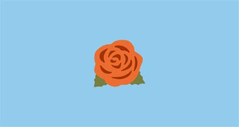 emoji rose rose emoji on google android 7 0