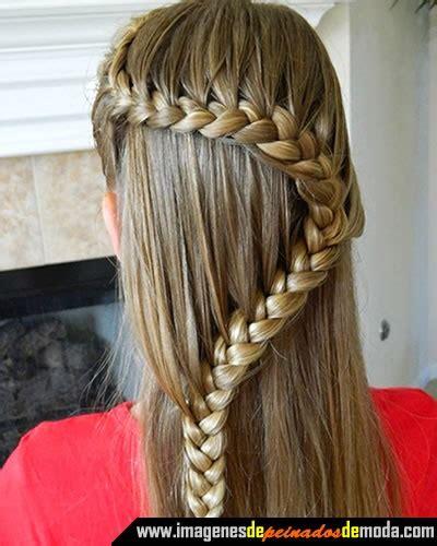 peinados en trenzas con pelo largo paperblog peinados en trenzas para cabello largo