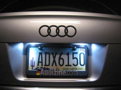 Led License Plate Bulb Options For A B7 Audi A4 S4 2005 Led License Plate Light Bulbs