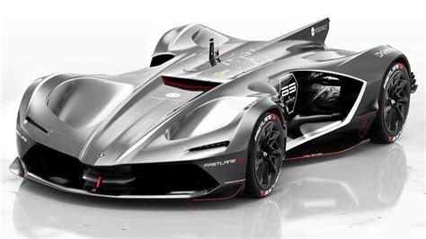Lamborghini Roboracer   de autonome raceauto van Lamborghini