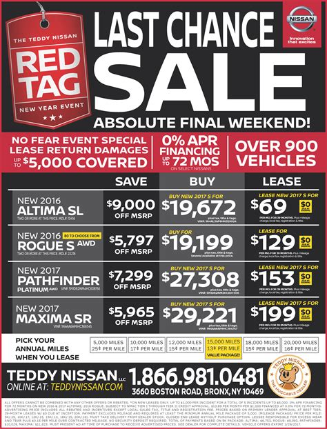 teddy nissan coupons teddy nissan new nissan dealership in bronx ny 10469