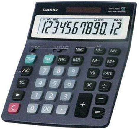 Kalkulator Casio Dj 220d Dj 240d casio dm 1200s ordinateurs de poche calculatrices