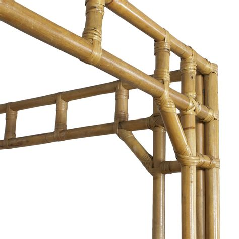 bamboo bed frames chippendale bamboo canopy size bed frame at